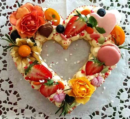 валентинка десерт