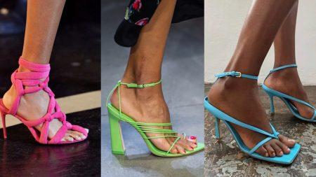 модная обувь весна лето