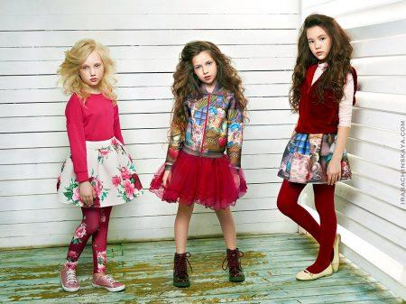 яркие легинсы детский тренд одежды 2019