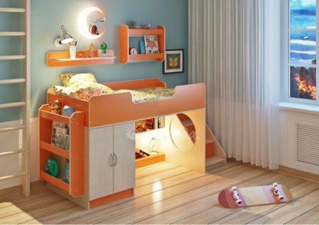 детская мебель пастельных оттенков