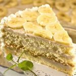 творожно банановый торт