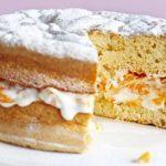 Бисквитный торт.
