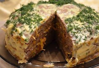 Классический рецепт печеночного торта
