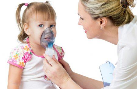 Ингаляции при кашле у детей