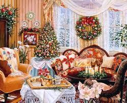 Украшаем дом к Новому году