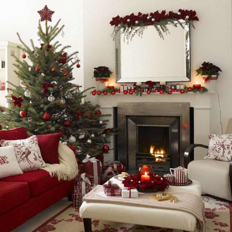 Миниатюра к статье Украшаем дом к Новому году