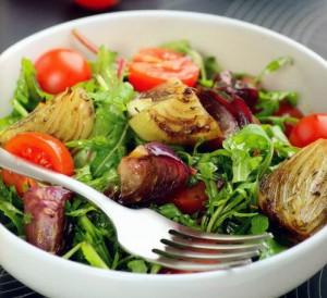 Салат с бальзамическим луком