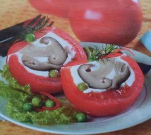 Рецепт приготовления заливных помидоров