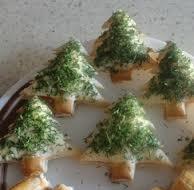 Рождественские тарталетки «Елочки»