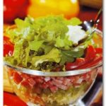 Рецепт салата с сыром
