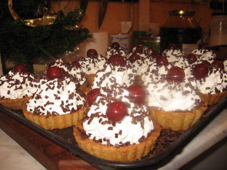 Рецепт приготовления десерта «Вишневая сказка»