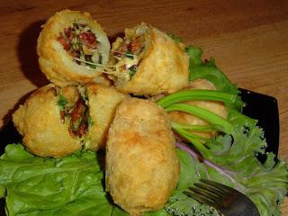 мясного салата с фисташками
