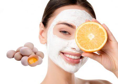 маски из яичного белка