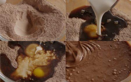 торт Черная магия на кефире приготовлениен