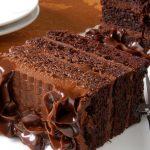 торт Черная магия на кефире