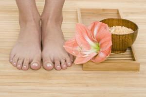 Feet by Flower