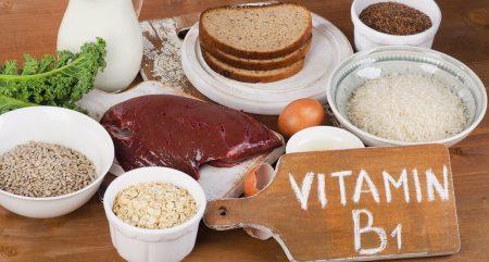 тиамин или витамин B1 продукты