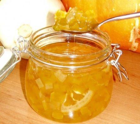Вкусное варенье из апельсинов с кабачками