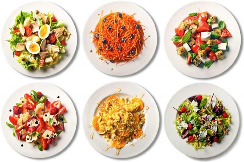 сочетание продуктов для похудения меню