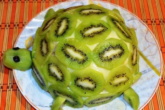 Фото рецепта торта черепаха