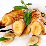 банановые блины