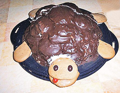 Торт черепашки рецепт с пошагово в