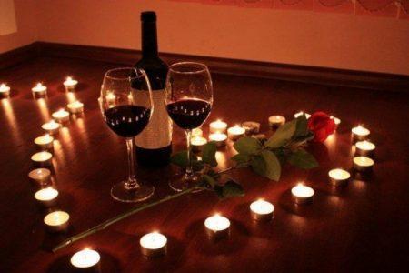 Романтический ужин для любимого в домашних условиях фото