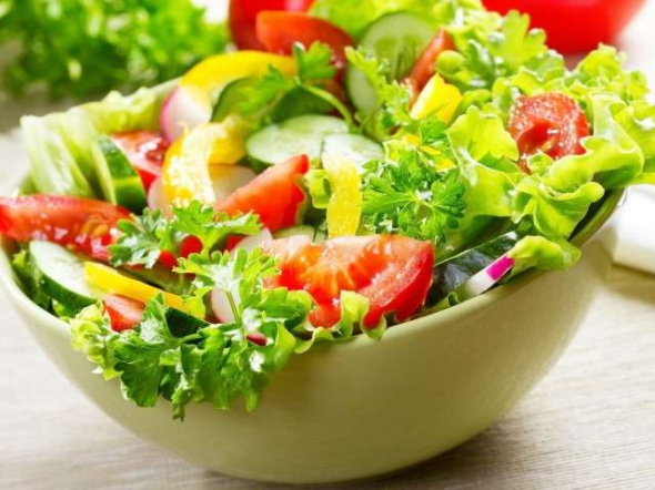 Острый салат из кабачков