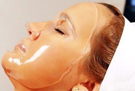 Желатиновая маска для лица «Невероятный эффект»