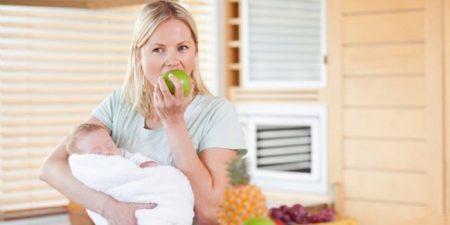 Меню кормящей мамы по месяцам, таблица по Комаровскому