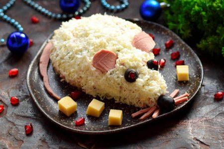 блюдо мышь