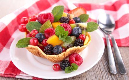 фруктовый салат для любимой