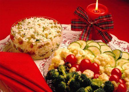 Диетические рецепты на Рождество