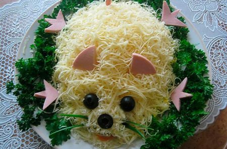блюдо мышка