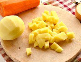 Маски из картофеля
