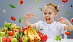 Миниатюра к статье Правильное питание детей — растим вундеркинда