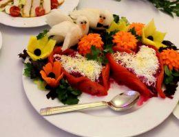 Идеи украшения блюд на Новый год