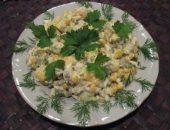Миниатюра к статье Рецепт салата с курицей и сыром