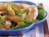Миниатюра к статье Овощной салат с креветками