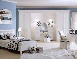 Миниатюра к статье Кое-что о дизайне женской спальни