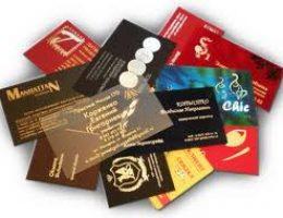 Важность заказа визиток