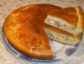 Миниатюра к статье Быстрый пирог на сметане или кефире с мясом