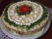 Миниатюра к статье Закусочный торт из вафельных коржей