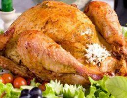Миниатюра к статье Курица фаршированная рисом