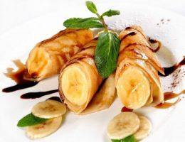 Миниатюра к статье Невероятно вкусные банановые блины